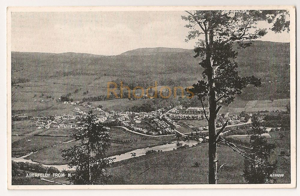 Scotland: Perth & Kinross. Aberfeldy View From The North, Early 20th Century Postcard