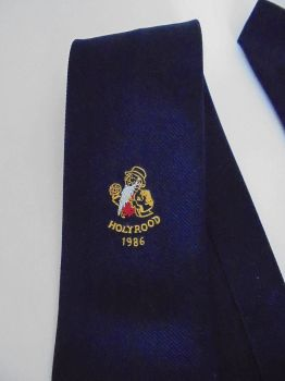 Vintage Tie, Necktie, Brewery Advertising For William Younger, Brewers, Holyrood, 1986