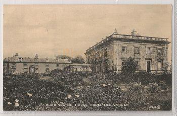 Scotland: Edinburgh, Midlothian. Duddingston House, View From The Garden. Early 1900s Postcard
