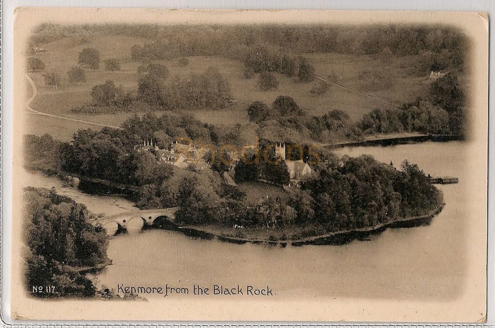 Scotland: Perth & Kinross. Kenmore From The Black Rock, Perthshire Early 1900s Postcard