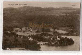 Scotland: Perth & Kinross. Kenmore From Black Rock, Early 1900s Photo Postcard