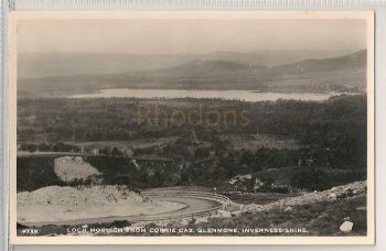 Scotland: Inverness-Shire. Loch Morlich From Corrie Cas, Glenmore. Real Photo Postcard