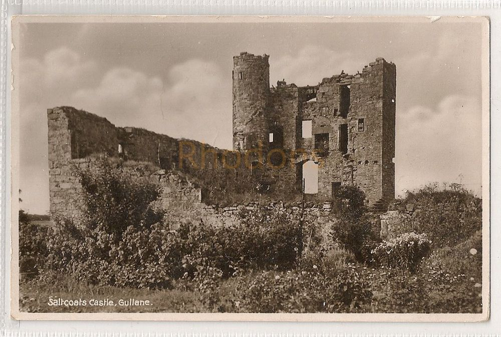Scotland: East Lothian. Saltcoats Castle, Gullane. Real Photo Postcard