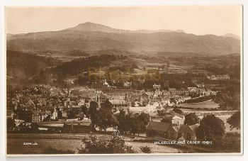 Wales: Dolgelley And Cader Idris Real Photo Postcard