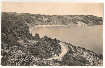 England: Devon. Babbacombe Bay And Oddacombe. Early 1900s Postcard