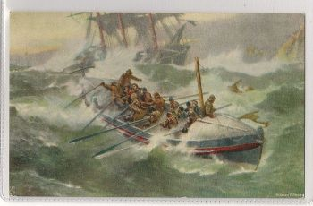 Royal National Life Boat Institution (RNLI). Early 1900s Tucks Postcard