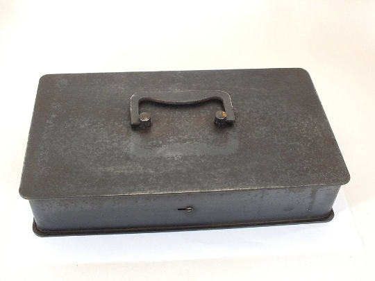 Metal Cash Box, Safe Box - Heavy