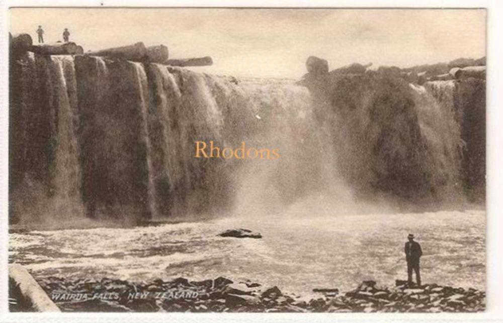 Australasia, Oceanica: New Zealand. Wairua Falls, N Z. Early 1900s Postcard