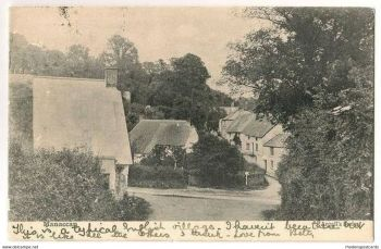 England: Cornwall, Manaccan Village. Argalls Series, Early 1900s Postcard