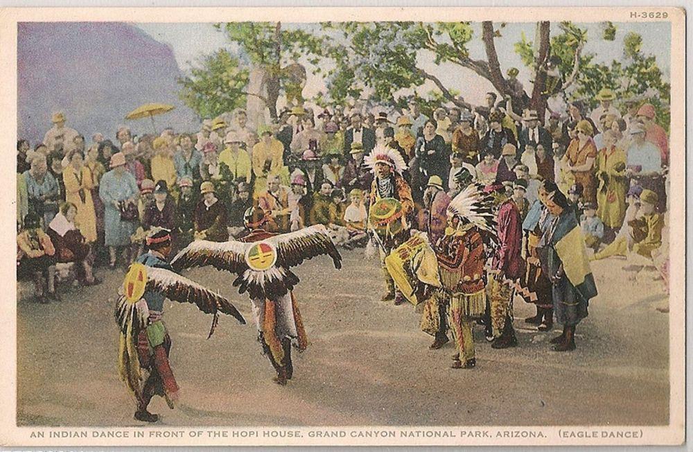 Arizona: Hopi Eagle Dance, Grand Canyon National Park, Arizona (Fred Harvey)