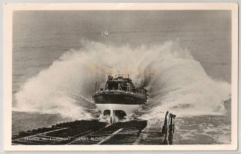England: Norfolk. Cromer No1 Lifeboat Henry Blogg. 1960s Real Photo Postcard