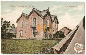 England: Lancashire. Higher Foxholes, Bay Horse Nr Lancaster. 1912 Postcard