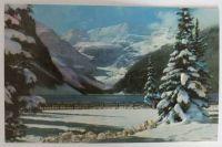 Canada: Alberta, Lake Louise Banff National Park, Snowy Winter Blanket. Circa 1950s Postcard