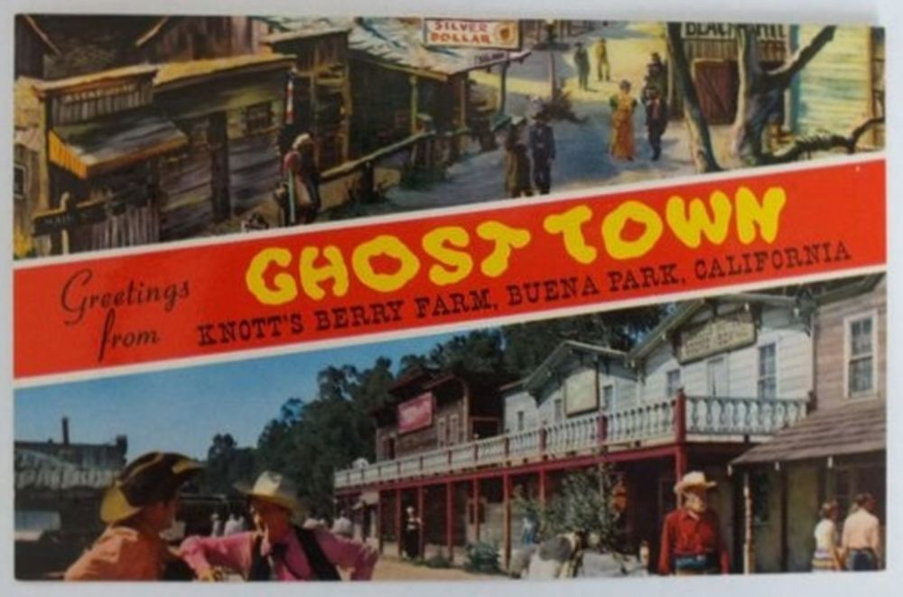 USA: California. Knotts Berry Farm Ghost Town, Buena Park California (Lot #2)