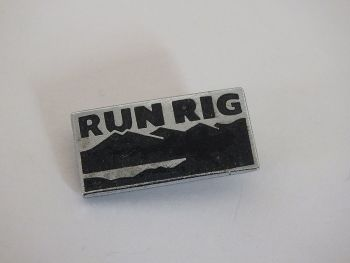 RunRig Pin Badge - Scottish Celtic Rock Music Band Souvenir