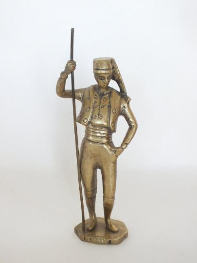 Vintage Brass Statuette