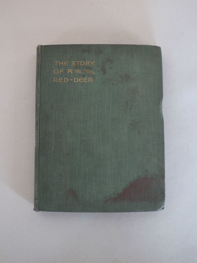 The Story Of A Red Deer By The Hon J W Fortescue (1898 Hardcover)