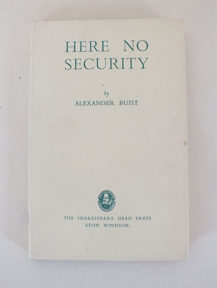 Here No Security By Alexander Buist