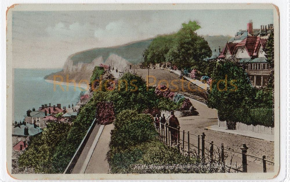 Isle of Wight: Keats Green And Shanklin Head, Shanklin IOW