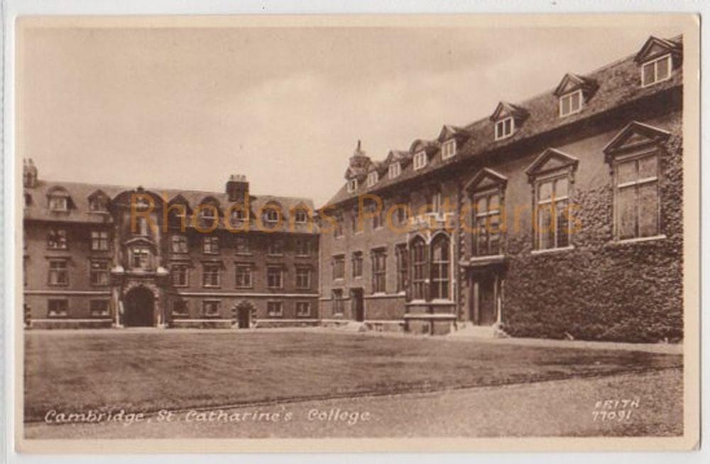 St Catharines College, Cambridge. Friths Series Postcard (77091)