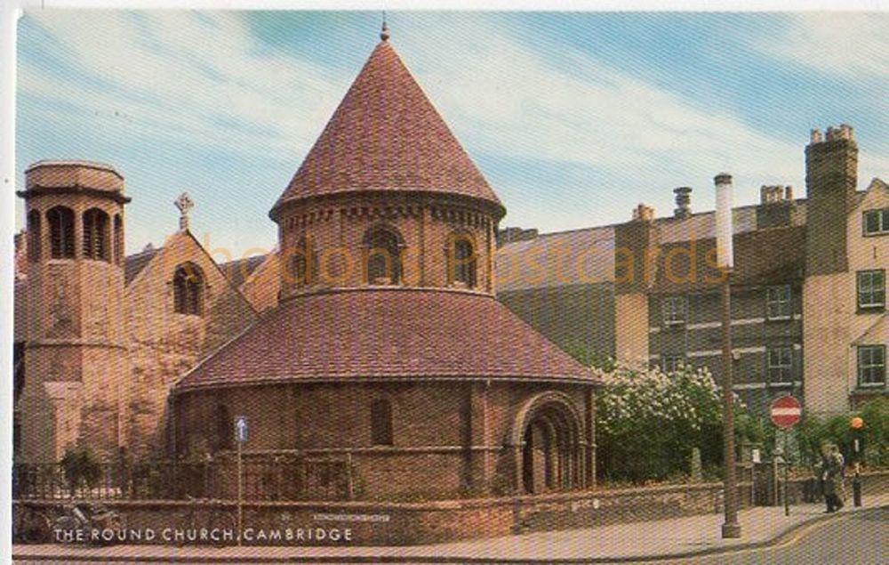Cambridgeshire: The Round Church Cambridge. Colour Postcard