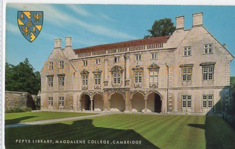 Cambridgeshire: Pepys Library, Magdelene College, Cambridge