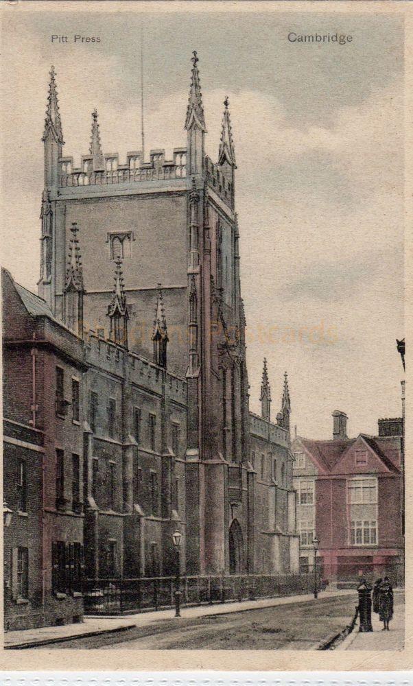 Cambridgeshire: Pitt Press, Cambridge  Pre 1914 Postcard