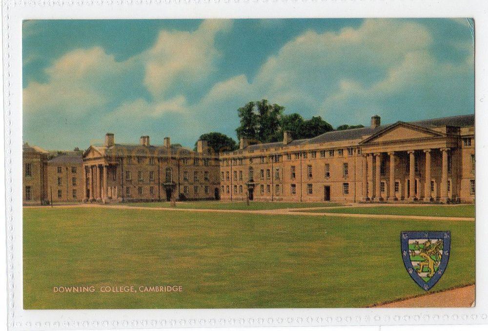 Cambridgeshire: Downing College, Cambridge Colour Postcard