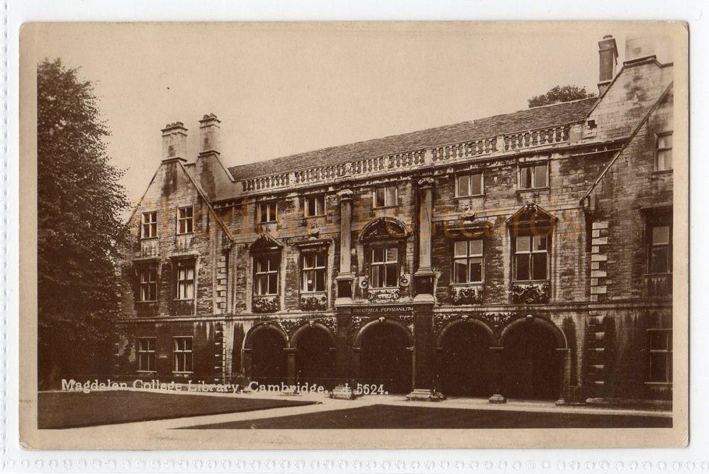 Cambridgeshire. Magdalan College Library, Cambridge. (Nordic Mill J 5524)