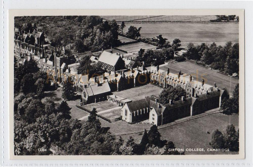 Cambridgeshire. Girton College, Cambridge Aero Pictorial Ltd Photo Postcard