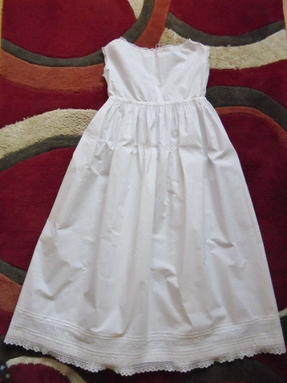 "Victorian Girls Petticoat / Dress - 28"" Chest"