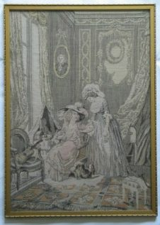 Antique French Woven Tapestry (Lot #2)
