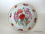 Royal British Legion Collectors Plate, Shirley Poppy In Flanders Fields - M Stevens Limited Edition #  08735F