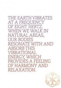 earth vibrates