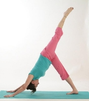 Personal Yoga - downward dog varitation