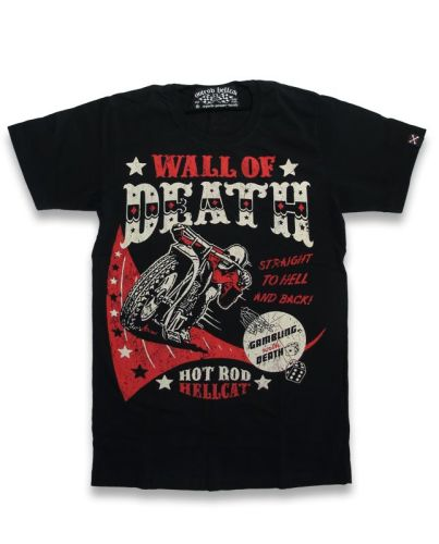 Hotrod Hellcat Wall of Death T-Shirt