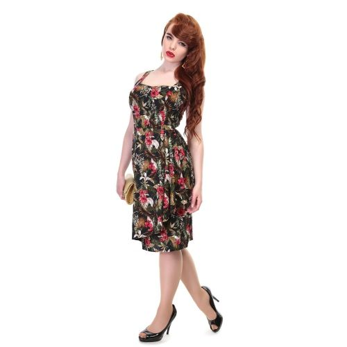 Collectif Hibiscus Sarong Dress