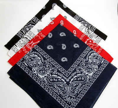 Paisley Bandana - Assorted Colours