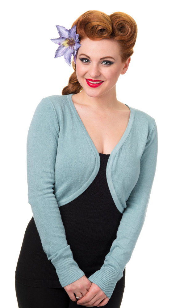 Bolero in Pastel Blue from Banned