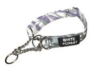 **LIMITED EDITION** Purple Zebra Fabric Collar