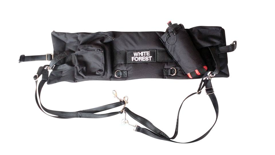 White Forest At Your Heel Belt Pro