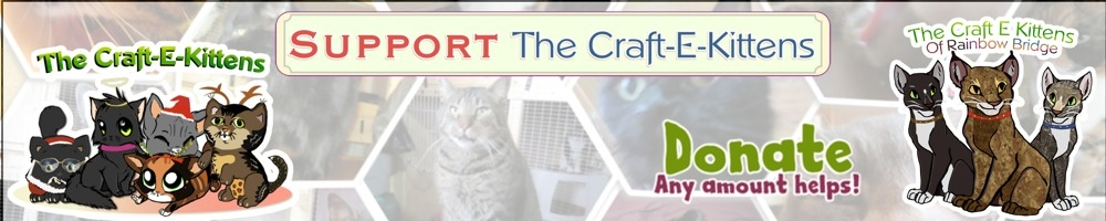 The Craft-E-Kittens Cabin, site logo.