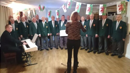 choir at trafalgar care home