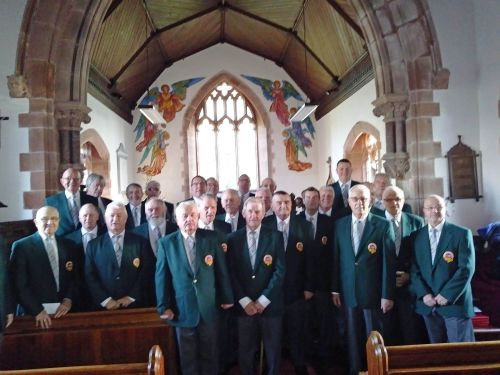 Choir at Brecon 22.12
