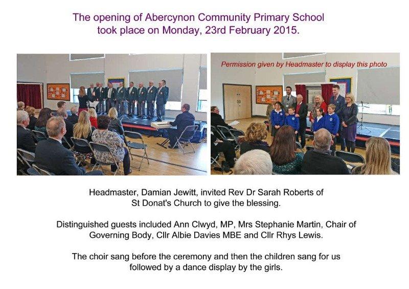 abercynon school opening