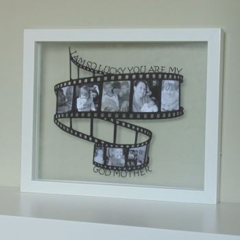 Retro Film Reel Photo Papercut