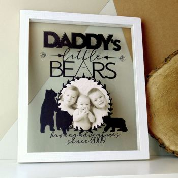 Daddy/Mummy Bear Personalised Papercut