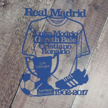 Football Shirt Papercut