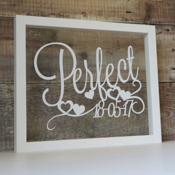 Any Words Script Papercut (Quotes, Lyrics, Other)