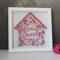 Home Sweet(ie) Home Papercut